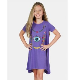 Lauren Moshi Kids Lauren Moshi - Beauty Floral Eye Love Swing Dress