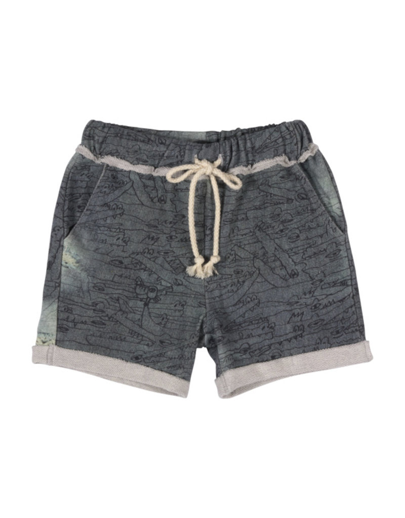 Paper Wings Paper Wings - Cuff Trackie Shorts