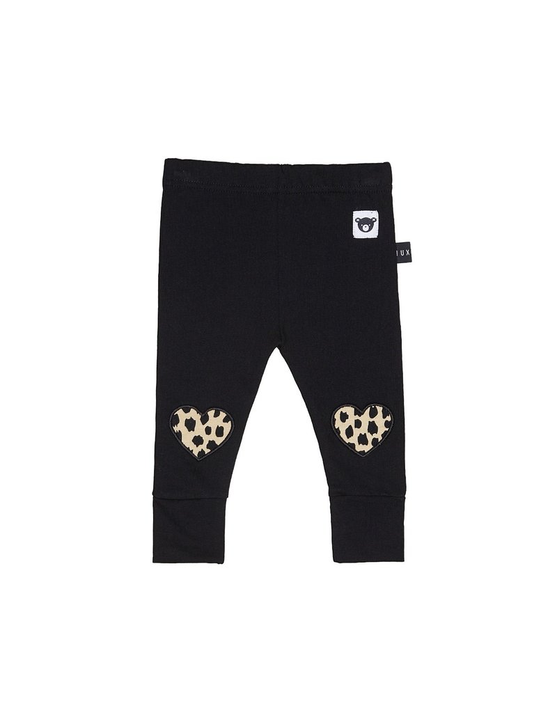 HUXBABY HUX - Leopard Heart Leggings