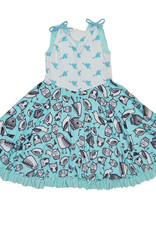 Twirly Girl - Prancing Pocket Whirly Dress - Owl Be With You