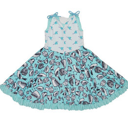 Twirly Girl Twirly Girl - Prancing Pocket Whirly Dress - Owl Be With You