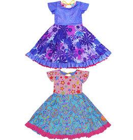 Twirly Girl Twirly Girl - Everlasting Reversible Dress - Happy Sunshine Doodles
