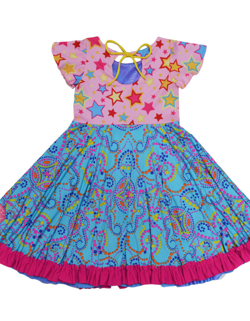 Twirly Girl - Everlasting Reversible Dress - Happy Sunshine Doodles