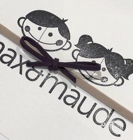 Max & Maude The Maude Bow- Eggplant