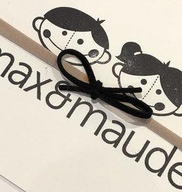 Max & Maude The Maude Bow- Ebony