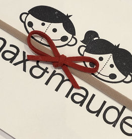 Max & Maude The Maude Bow- Red