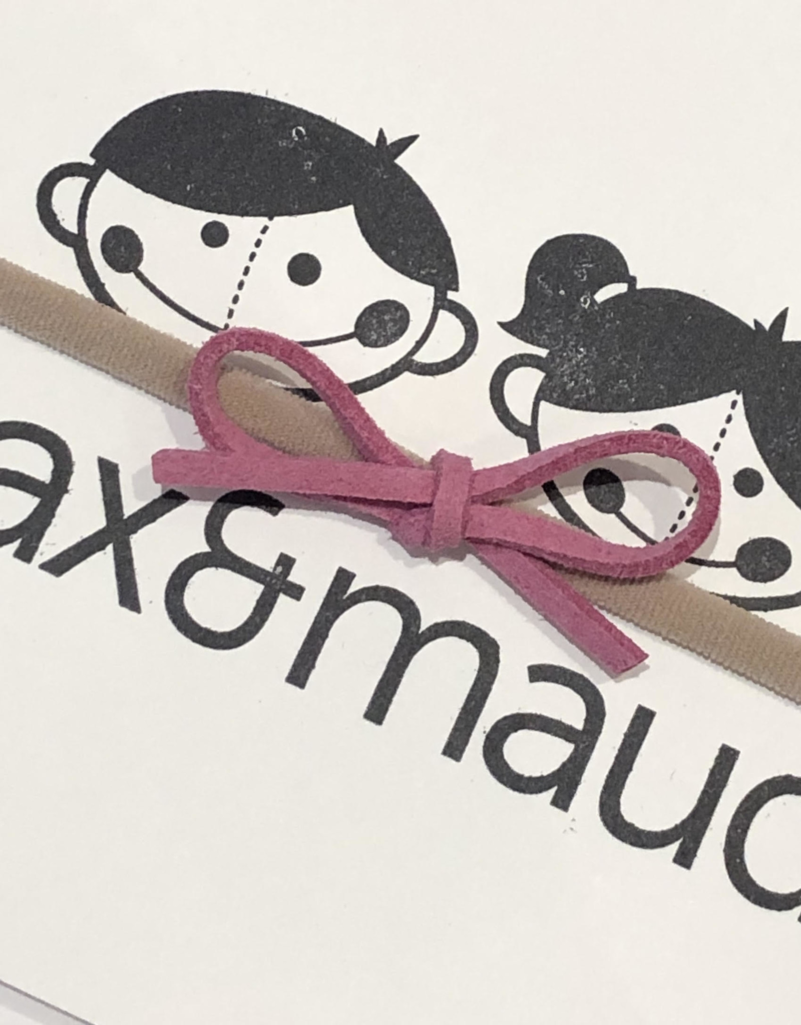 Max & Maude The Maude Bow - Pink