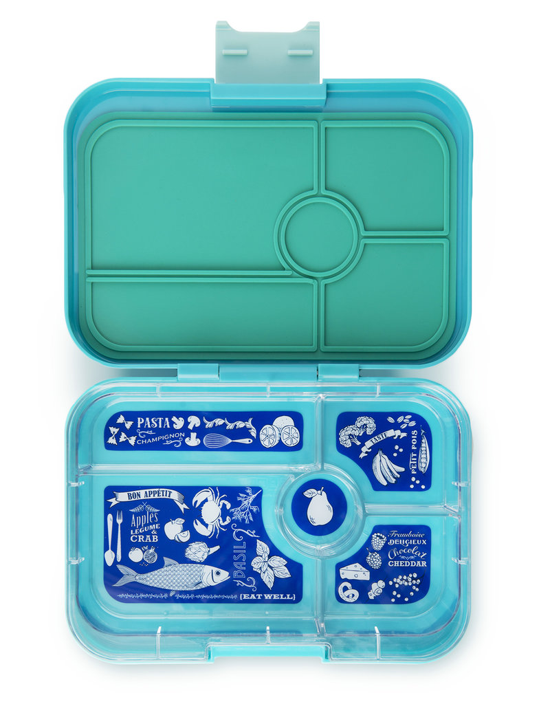 Yumbox Yumbox - Tapas - 5 Compartment - Antibes Blue