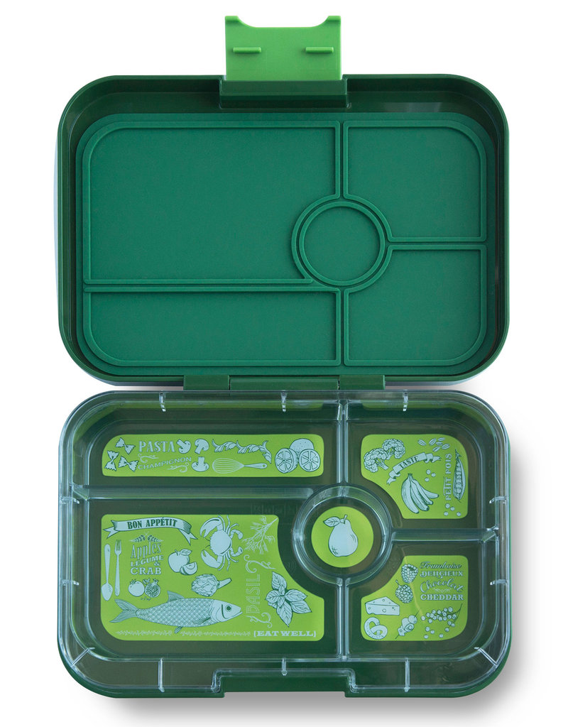 Yumbox Yumbox - Tapas - 5 Compartment - Brooklyn Green