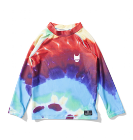 MUNSTERKIDS Munster- Logo Tie Dye- Rash Guard