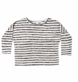 Rylee + Cru Rylee + Cru - Boxy Striped Tee - 3-6M