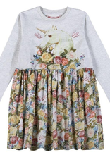 Paper Wings Paper Wings - Gathered T-Shirt Dress