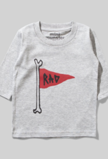 MUNSTERKIDS Munster - L/S T-Shirt - Red Flag