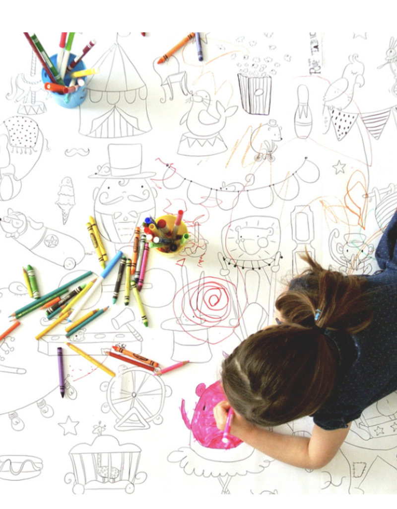 Atelier Rue Tabaga Art - Giant Coloring Poster