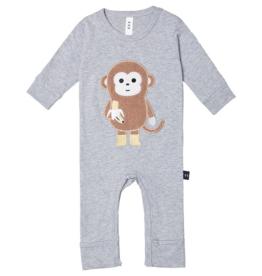 HUXBABY HUX - Monkey Romper