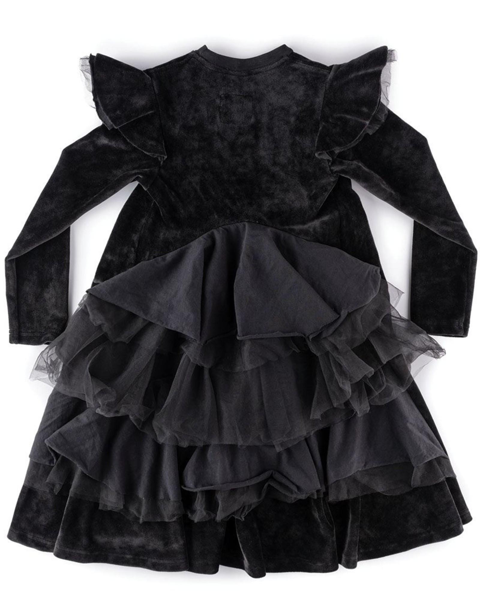 NUNUNU Nununu - Velvet Party Dress