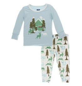 KicKee Pants KicKeee Pants - L/S Pajama Set