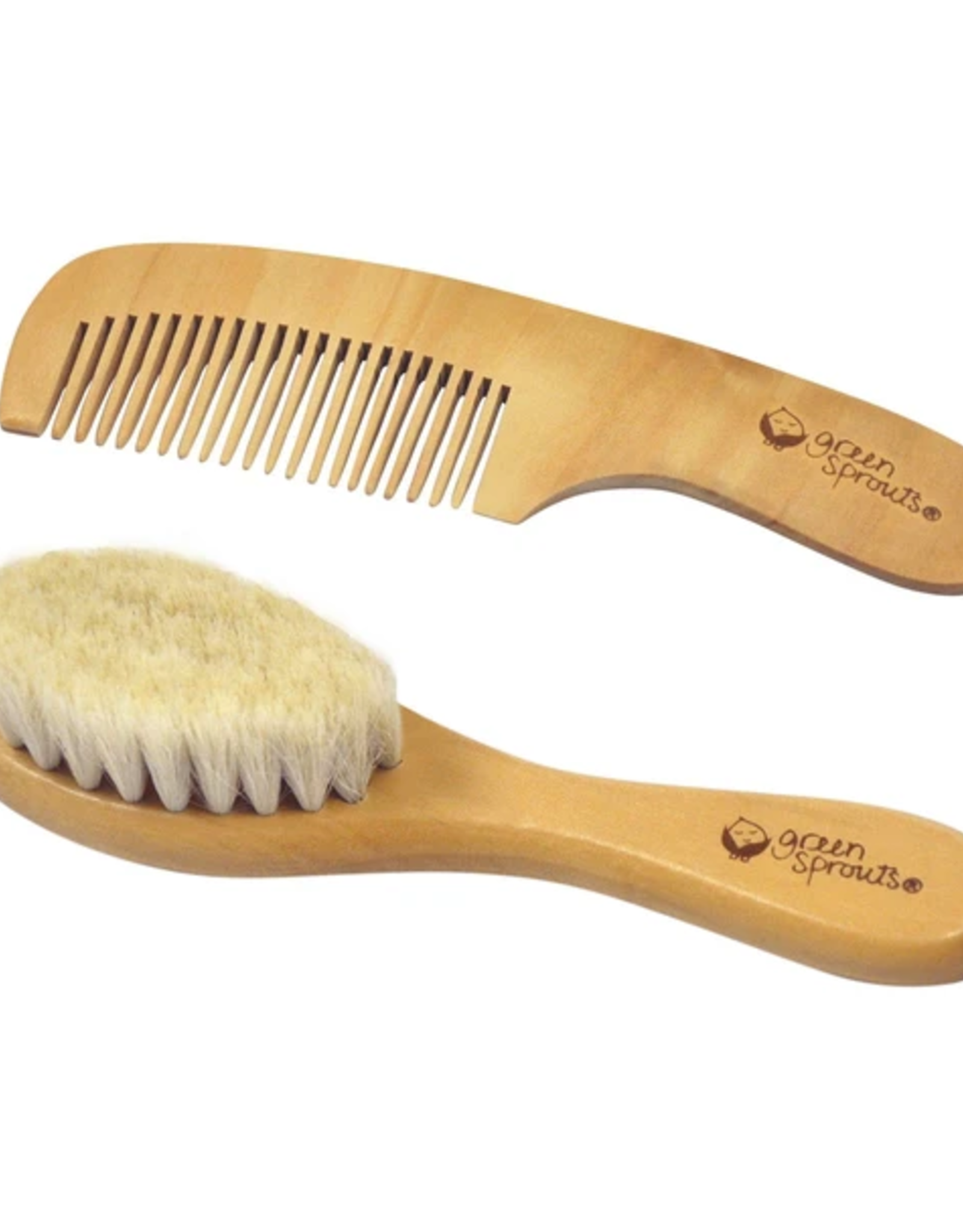 Greensprouts Greensprouts - Baby Brush & Comb Set
