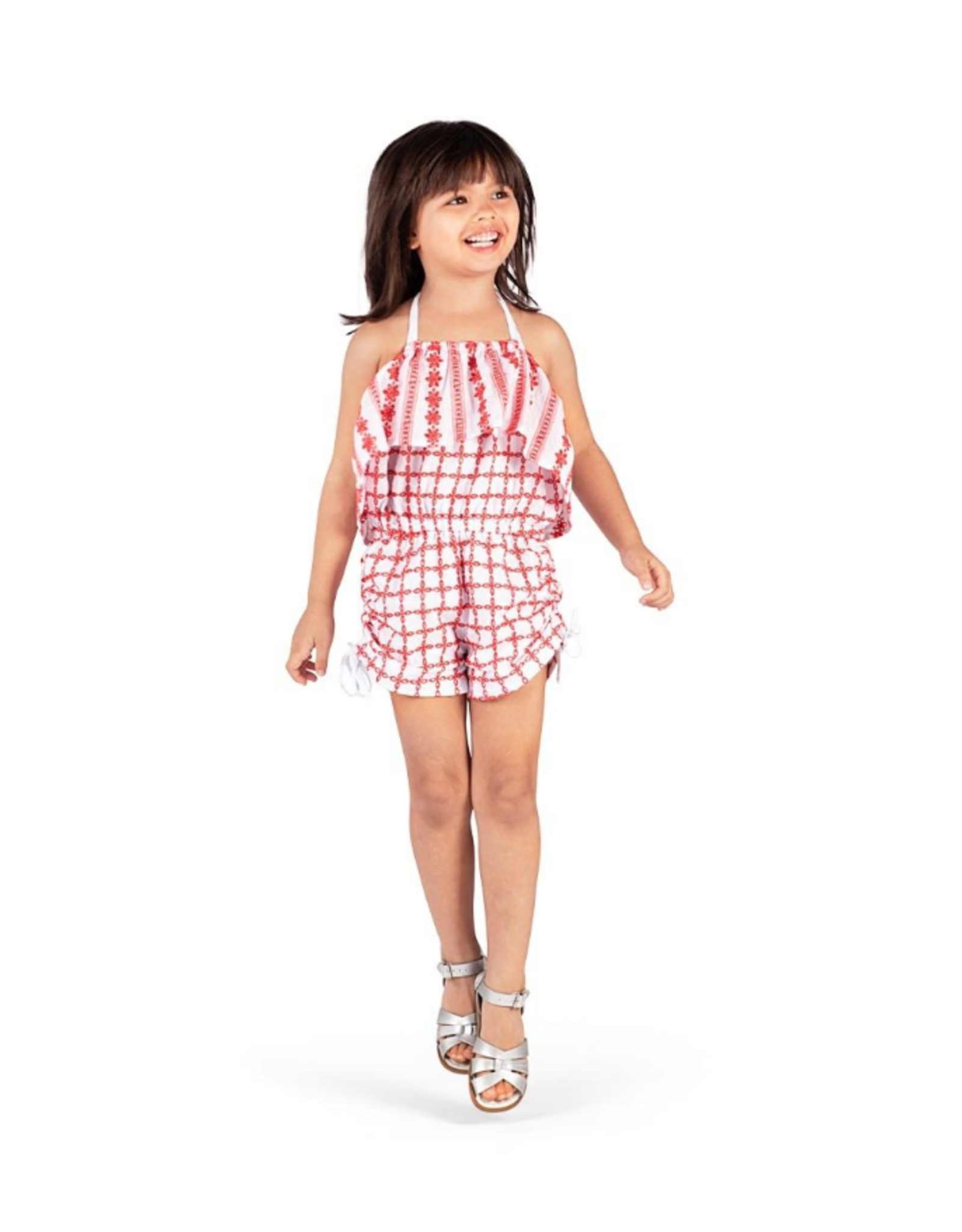 Paper Wings Paper Wings - Lace Romper