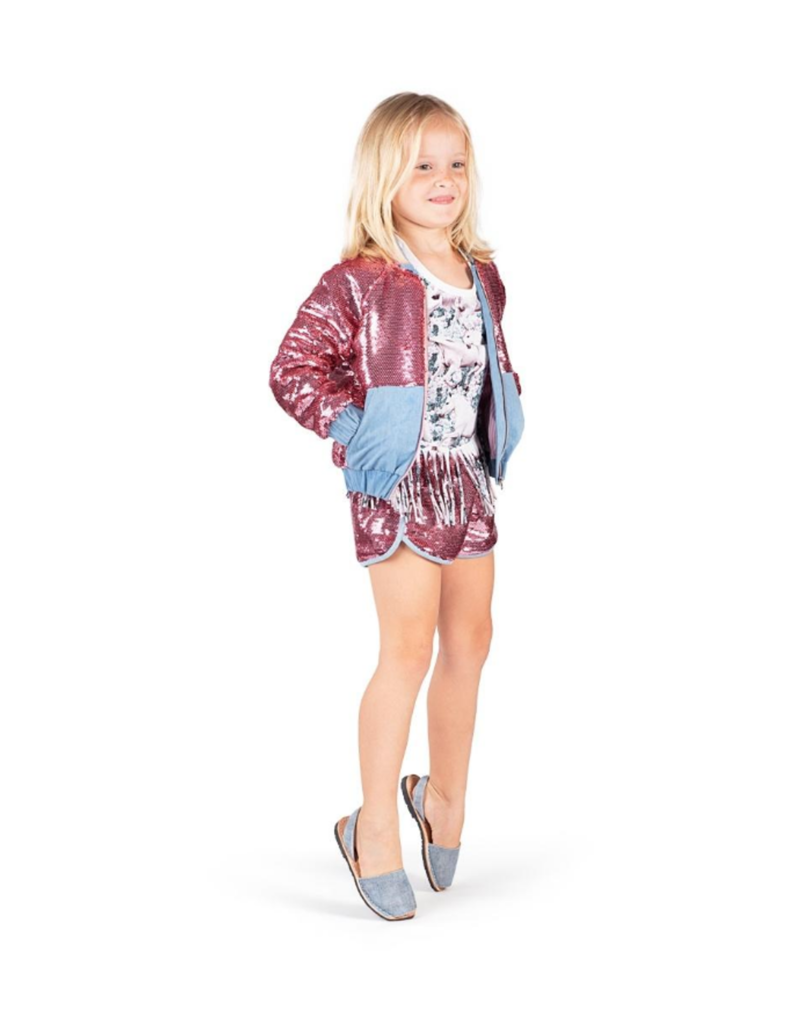 Paper Wings Paper Wings - Sequin Shorts