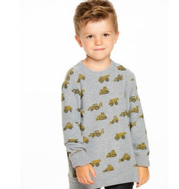 Chaser Chaser - Boys Cozy Knit Crew Neck Pullover
