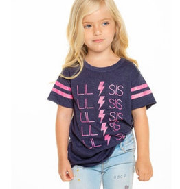 Chaser Chaser - Girls S/S Shirttail Crew Neck Tee