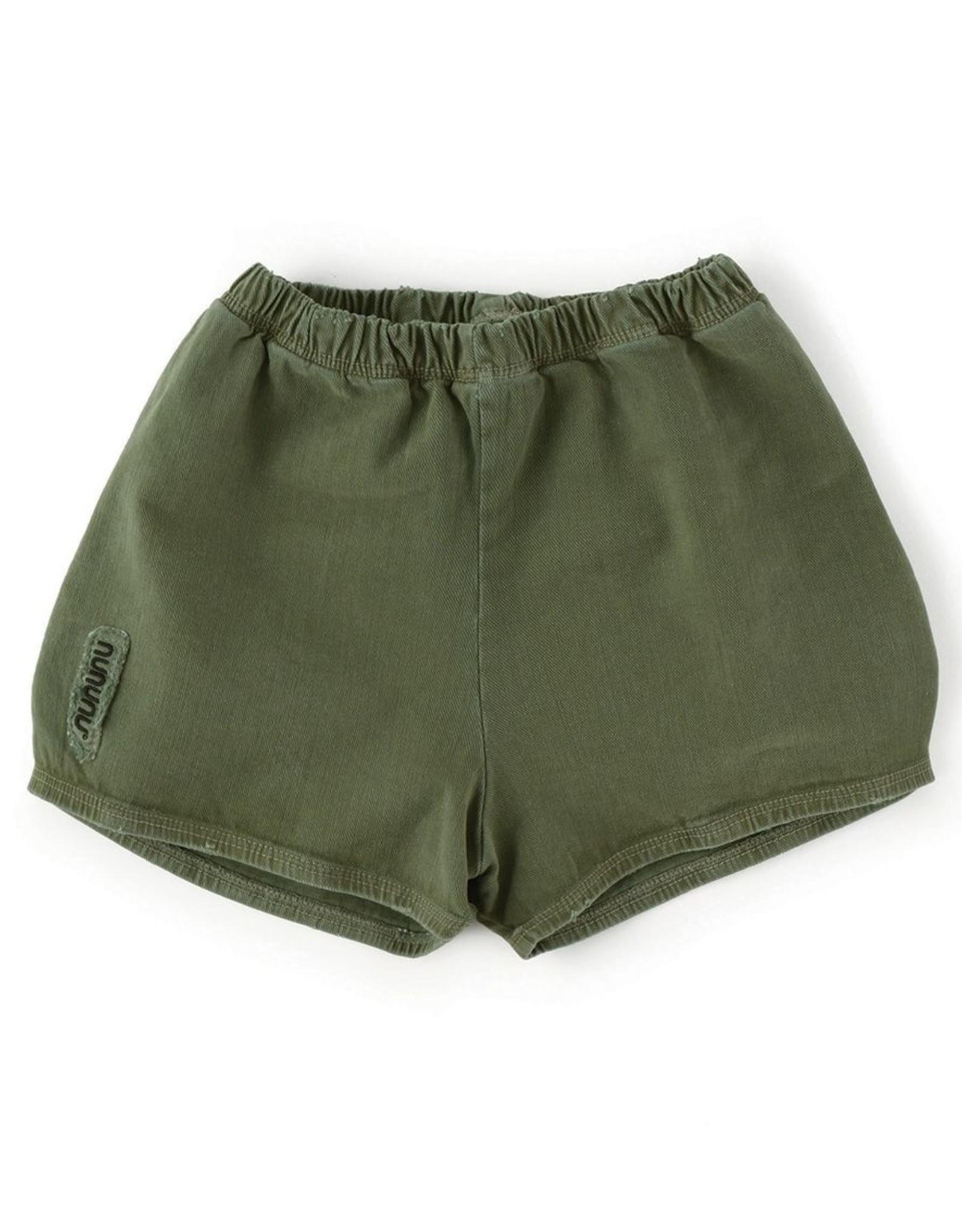 NUNUNU Nununu - Military Yoga Shorts