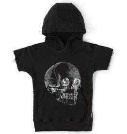 NUNUNU Nununu - Fluffy MD Skull Short Hoodie