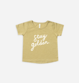 Rylee + Cru Rylee + Cru - Stay Golden Basic Tee