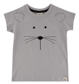 Turtledove London - Lilly + Sid - Mouse Face Tee