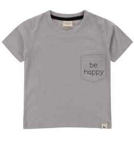 Turtledove London - Lilly + Sid - Happy Embroidered Pocket Tee