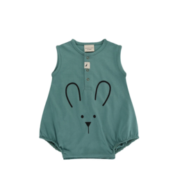 Turtledove London - Lilly + Sid - Bunny Face Bubble Romper