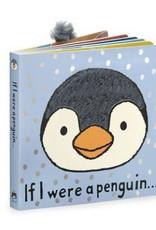JellyCat - Book - If I were a Penguin Book