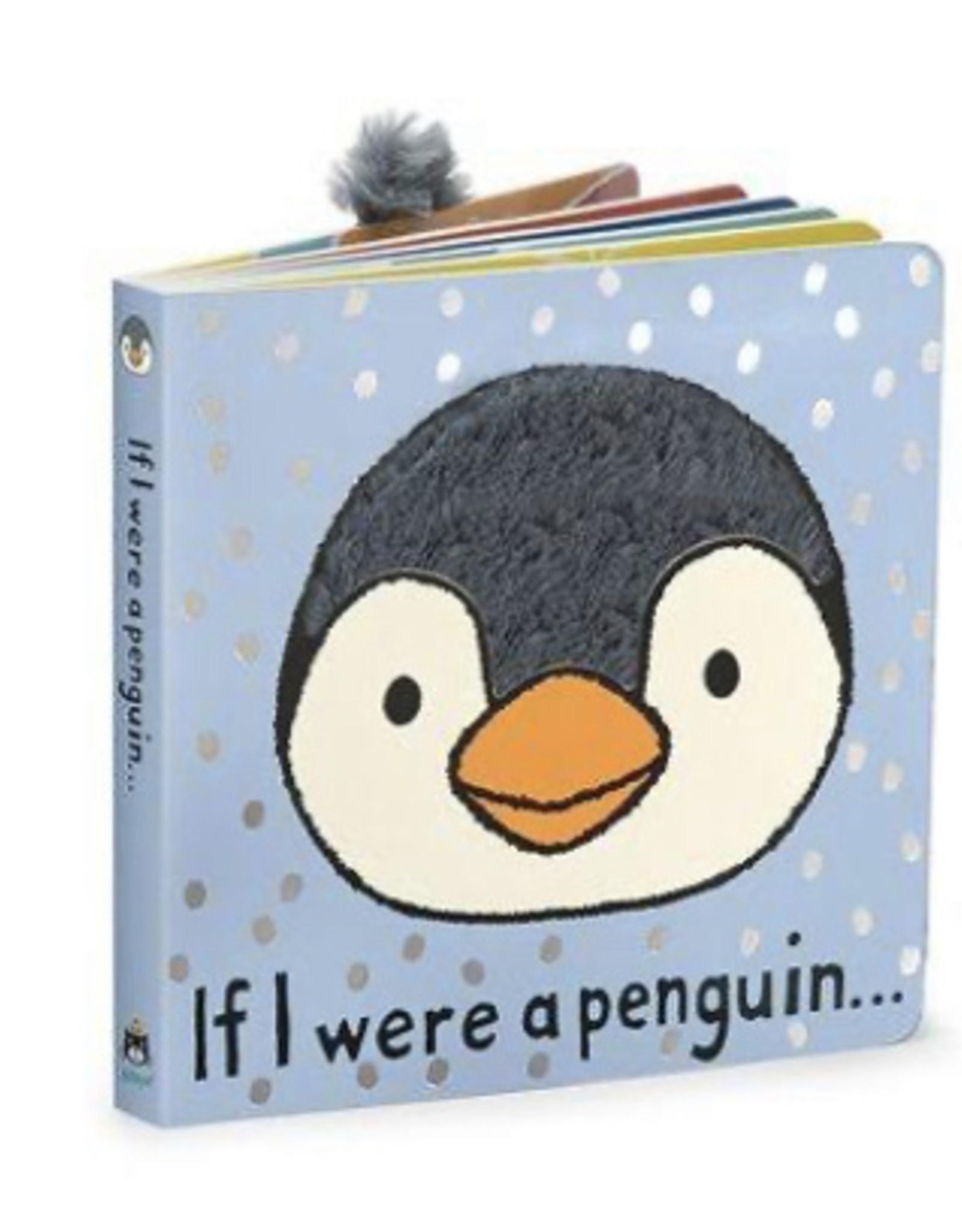 JellyCat - Book - If I were a Penguin Book
