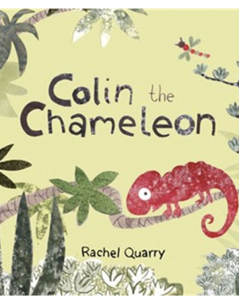 JellyCat - Book - Colin Chameleon Board Book