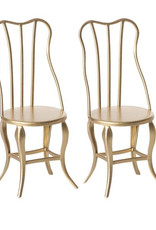 Maileg Maileg - Vintage Chair, Gold