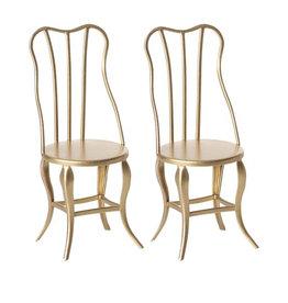 Maileg Maileg - Vintage Chair, Gold