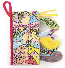 JellyCat - Book - Unicorn Tails