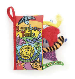 JellyCat - Book - Rainbow Tails