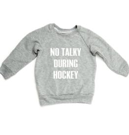 Portage + Main Portage + Main - No Talky Hockey Raglan