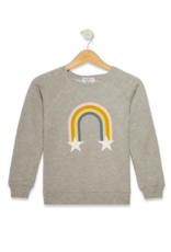 Wildfox Wildfox - Rainbow Stars Sommers Swearshirt