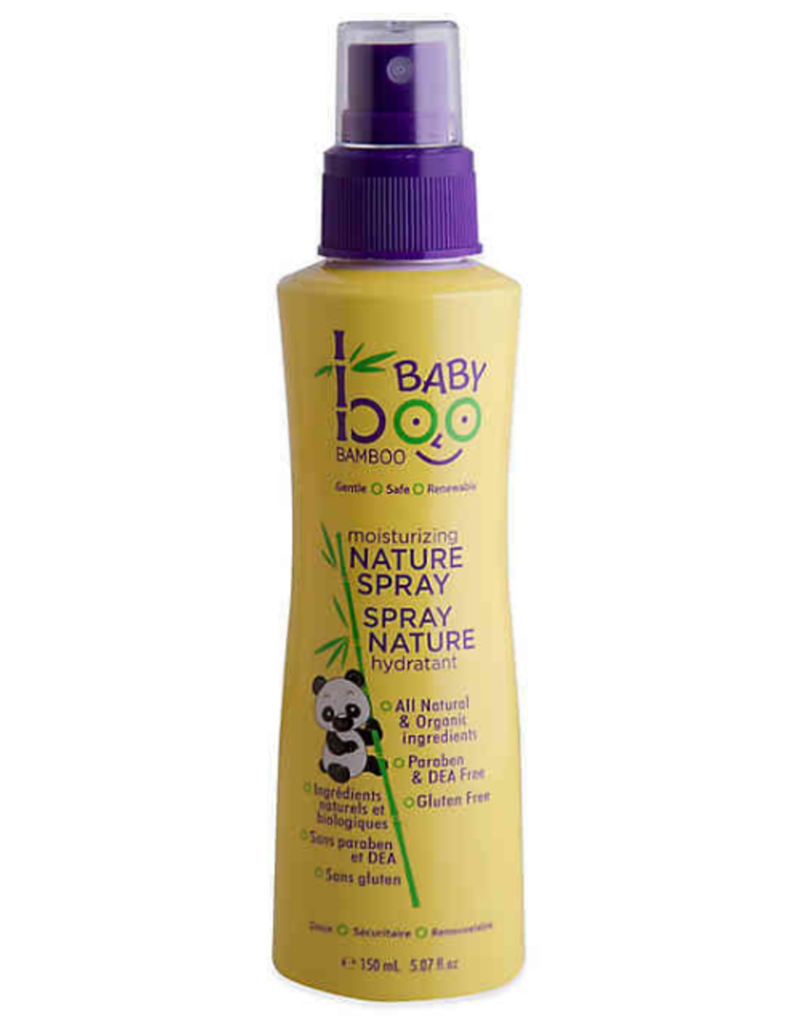 Baby Boo Bamboo - Mositurizing Natural Spray 150ml