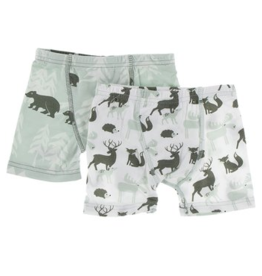 KicKee Pants Kickee Pants - Boxer Brief Set