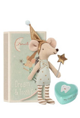 Maileg Maileg - Boy Tooth Fairy Mouse in Box