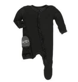 KicKee Pants KicKee Pants - Solid Footie with Zipper