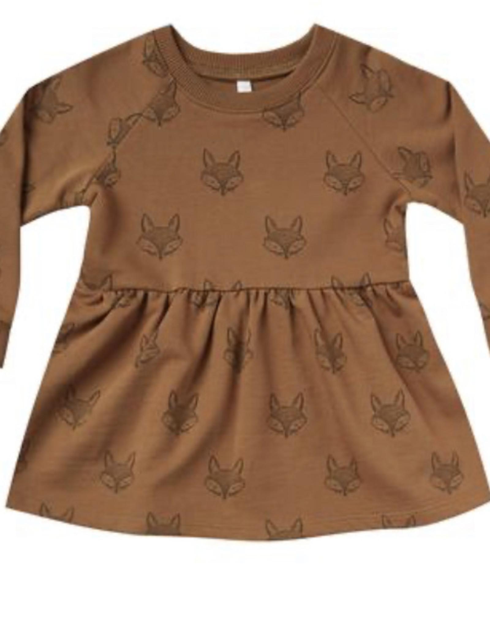 Rylee + Cru Rylee + Cru - Printed Raglan Dress