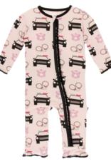 KicKee Pants KicKee Pants - Print Coverall with Zipper