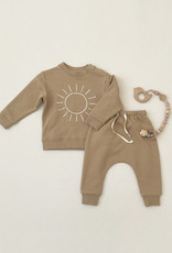 Quincy Mae Quincy Mae - Fleece Basic Sweatshirt