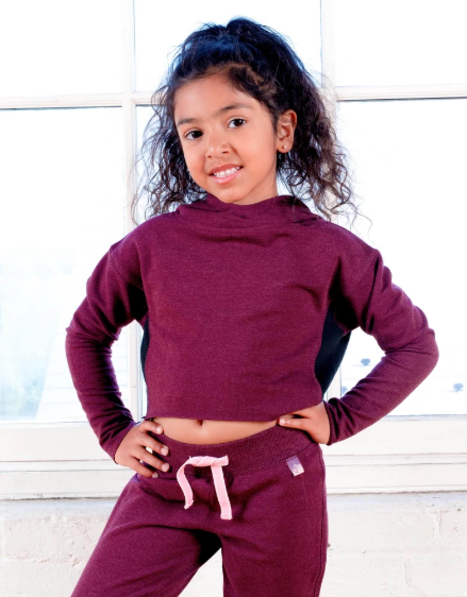 Jill Yoga Jill Yoga - Crop Hooded Sweatshirt