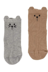 Turtledove London - Lilly + Sid - Cat/Dog Sock Pack